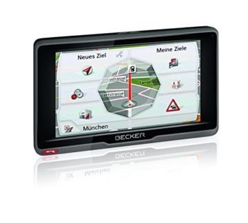 Becker ready.5 EU Navigationsgerät (12,7 cm (5 Zoll) Bildschirm, 45 Länder vorinstalliert, Lebenslange Kartenupdates, TMC, inkl. MagClick Aktivhalter, SituationScan) -