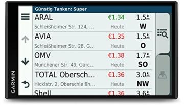 Gamin DriveSmart 61LMT-S Navigationsgerät (17,7 cm (6,95 Zoll) Touch-Display, 46 Länder Europas, lebenslang Kartenupdates, TMC) -
