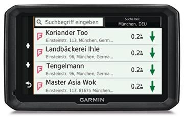 Garmin dezl 570LMT-D LKW Navigationsgerät (lebenslange Kartenupdates, DAB+, LKW-spezifisches Routing, 12,7cm (5 Zoll) Touch-Glasdisplay) -