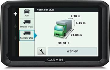 Garmin dezl 770LMT-D LKW Navigationsgerät (lebenslange Kartenupdates, DAB+, LKW-spezifisches Routing, 17,8cm (7 Zoll) Touch-Glasdisplay) -