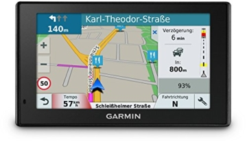 Garmin DriveSmart 51 LMT-D CE Navigationsgerät - Zentraleuropa Karte, lebenslang Kartenupdates & Verkehrsinfos, Smart Notifications, 5 Zoll (12,7cm) Touchdisplay -