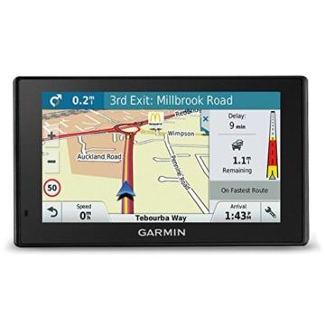 Garmin DriveSmart 51 LMT-D EU Navigationsgerät - Europa Karte, lebenslang Kartenupdates & Verkehrsinfos, Smart Notifications, 5 Zoll (12,7cm) Touchdisplay -