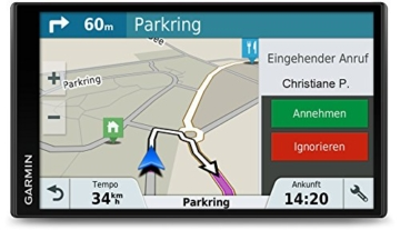 Garmin DriveSmart 61 LMT-D CE Navigationsgerät  (17,65 cm (6,95 Zoll) Touchdisplay, Zentraleuropa (Traffic via DAB+ oder Smartphone Link) lebenslang Kartenupdates & Verkehrsinfos, Smart Notifications) -