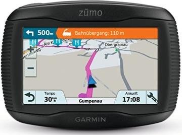 Garmin zumo 395LM EU Motorradnavigationsgerät - 4,3'' Touchscreen, lebenslange Kartenupdates -
