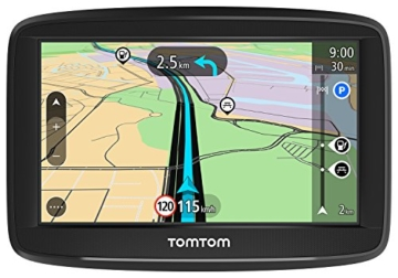 TomTom Start 42 Navigationsgerät (10,9 cm (4,3 Zoll) Display, Lifetime Maps, Fahrspurassistent, Karten von 48 Ländern Europas) schwarz -
