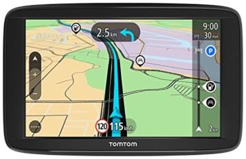 TomTom Start 62 Navigationsgerät (15 cm (6 Zoll) Display, Lifetime Maps, Fahrspurassistent, Karten von 48 Ländern Europas) schwarz -